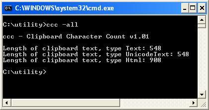 ccc.exe screen capture