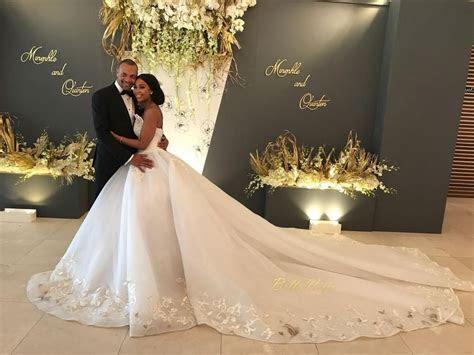 The beautiful Minnie Dlamini married her sweetheart