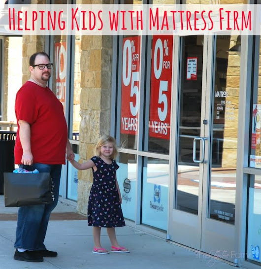 Kid Heroes Help Foster Kids with Mattress Firm | The TipToe Fairy