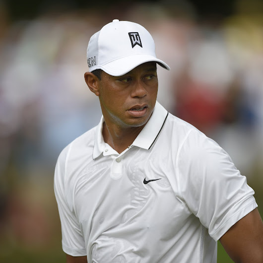 Tiger Woods at Quicken Loans National 2015: Friday Leaderboard Score, Reaction