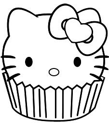 Fairy Hello Kitty Coloring Page - Free Coloring Pages Online
