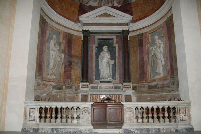 Oratorio di Santa Silvia: affreschi dell'abside di Guido Reni