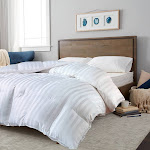 Blue Ridge Home Fashion All Season Down Alternative Comforter, White, King