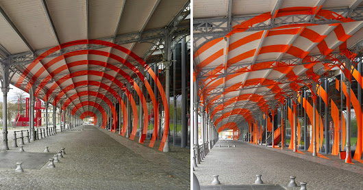 New Large-scale Geometric Illusions in Paris by Felice Varini