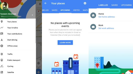 Google Maps for Android Now Shows Locations of Your Upcoming Events