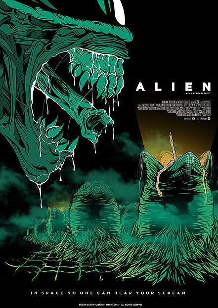Alien by Mainger