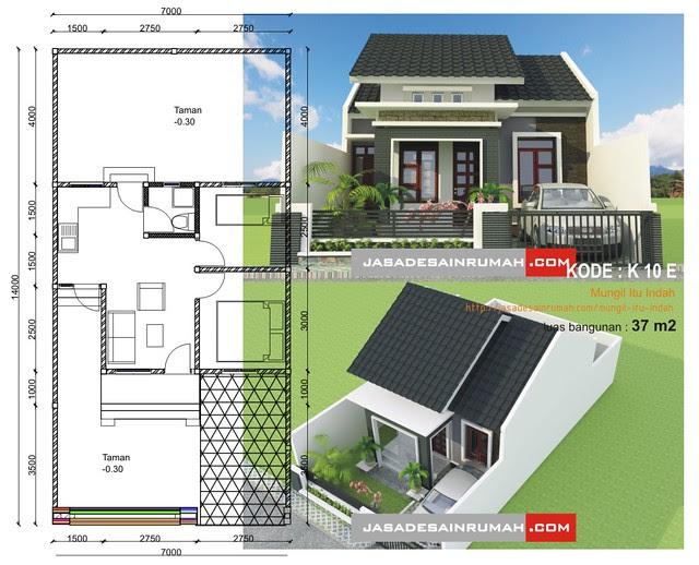 Mungil Itu Indah @ Jasa Desain Rumah