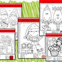Coloriages Magiques De Noel La Classe De Corinne