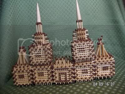 bangunan mancis 11 [Gambar Menarik] Bangunan Dari Batang Mancis