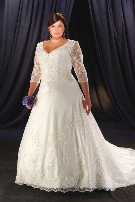 Plus Size Wedding Dresses   Dressed Up Girl
