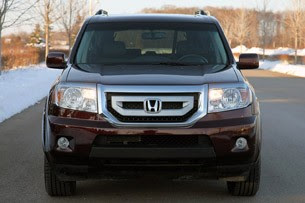 2011 Honda Pilot 4WD Touring front view
