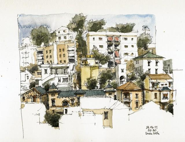 Málaga, Calle Conde de Ureña