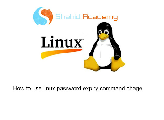 How to use linux password expiry command chage