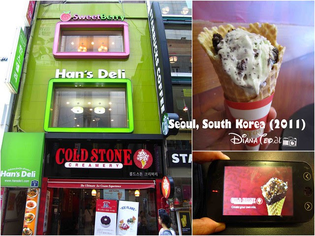 Last Day in South Korea 06 - Cold Stone Creamery