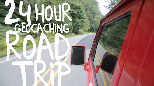 24 Hour Geocaching Road Trip