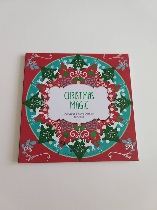 Christmas Magic / Adult Coloring Book / Coloring Book / Christmas Coloring Book / Christmas Designs / Holiday Coloring Book / Color Therapy