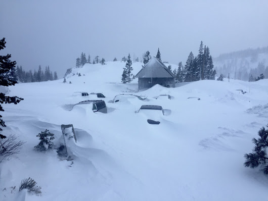 5 Regions Buried in Snow Right Now