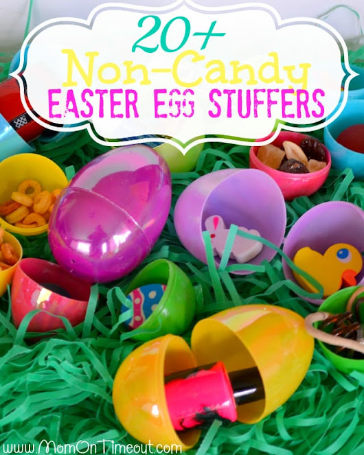 20+ Non-Candy Easter Egg Stuffer Ideas - Mom On Timeout