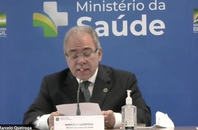 Queiroga promete toda a população vacinada até o fim de 2021