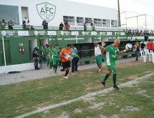 Alecrim estreia no Ninho do Periquito, em São Gonçalo do Amarante (Foto: Augusto Gomes)