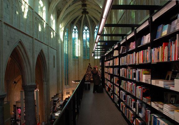 selexyz dominicanen 1 The Worlds 6 Coolest Looking Bookstores