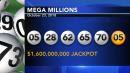 1 winning Mega Millions ticket sold worth $1.6 billion, $1M winners in Pa., N.J.
