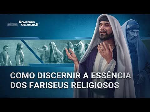 """Filme evangélico """"Rompendo armadilhas"""" Trecho 1 – Como discernir a essência dos fariseus religiosos"""
