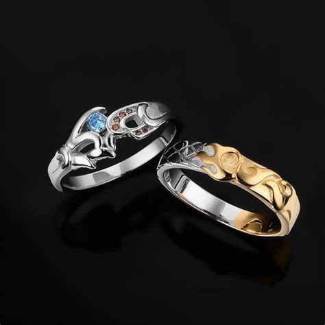 925 Jewelry Sterling Silver Engagement Rings LoL Hero