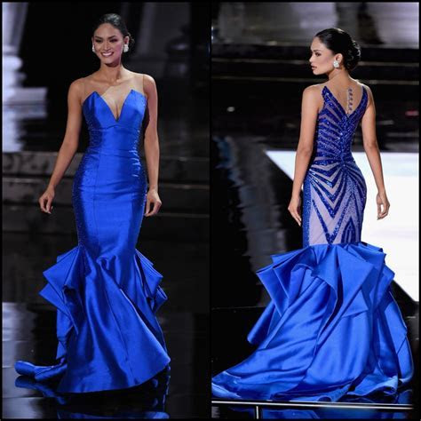 Pin by Kitti Vielbaum on Color   Blue   Pageant gowns