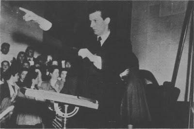 Mariano Mores Director de Orquesta 1948