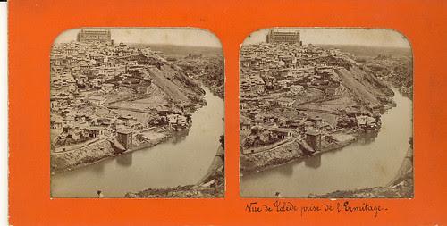 Fotografía estereoscópica de Toledo. Vista general