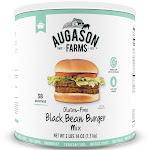 Augason Farms Emergency Food Gluten Free Black Bean Burger - 46oz