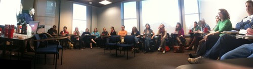 Emerson Blogging Class Panorama