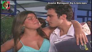 Joana Balaguer sensual na serie Malhção
