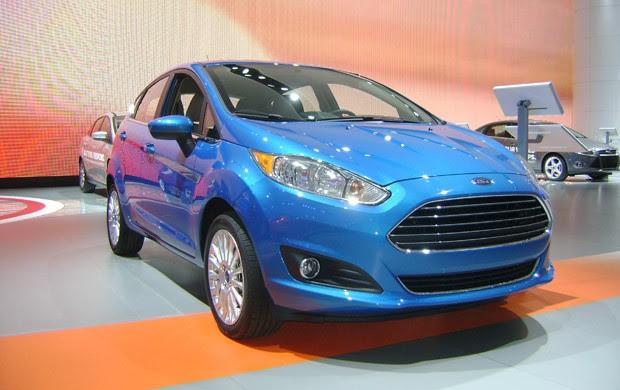 Ford New Fiesta será nacional a partir de abril (Foto: Luciana de Oliveira / G1)