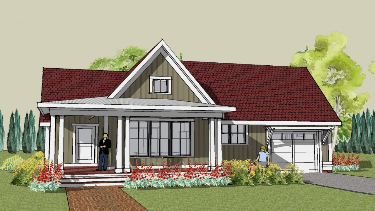 Unique Small House Plans Simple Cottage House Plans, small cottage home designs  Treesranch.com