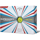Callaway 2017 Supersoft Yellow Dozen Golf Balls