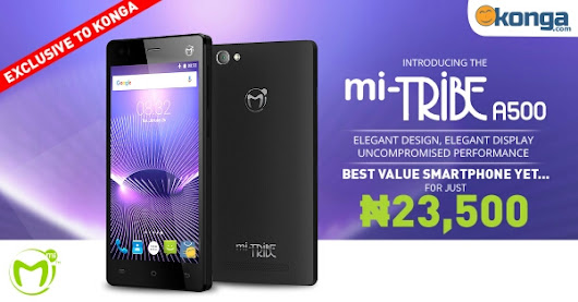 Mi-Tribe A500 announced with 2GB RAM, Android 5.1, N23,500 Price Tag