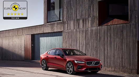 Volvo S60 and V60 Receive 5-star Safety Rating by Euro NCAP - Motoraty