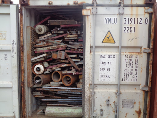 HMS 1/2 Heavy Melting Scrap Available to Import from Chile & South America
