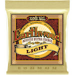 Ernie Ball Earthwood Light 80/20 Bronze Acoustic Guitar Strings