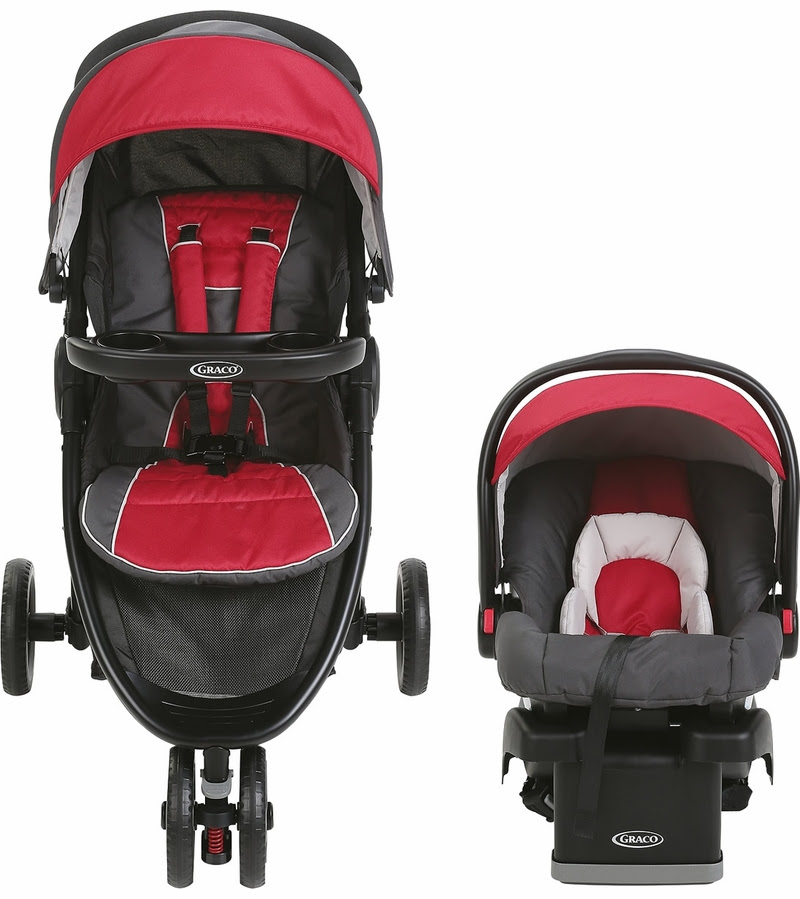 Graco FastAction Fold Sport LX Click Connect Travel System ...