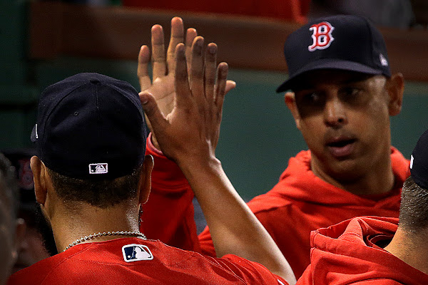 aaa99d10540f90 Alex Cora confident Red Sox 'will play better' in second half