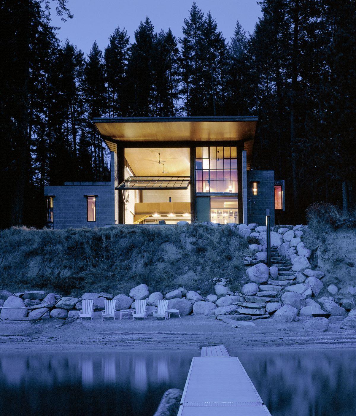 Chicken Point Cabin - Olson Kundig Architects