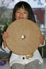 Olivia with Swedish Bread