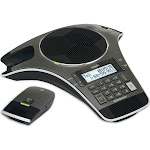 VTech ErisStation VCS702 Cordless Conference Phone with Two Wireless Mics - Gunmetal