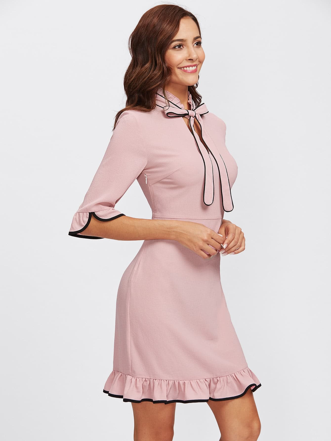 Plus size Off Shoulder Beading Plain Lace Evening Dress catalog red