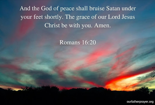 Scripture on Peace of Mind - KJV ⋆ Our Father Prayer