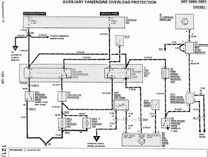 mercede 300d wiring diagram
