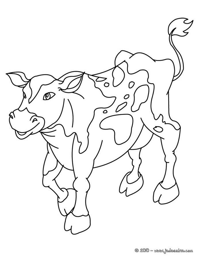 Vache 94 Animaux Coloriages à Imprimer